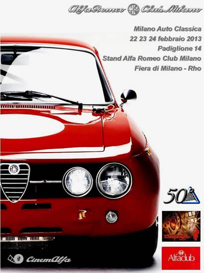 loc-milanoMilano Autoclassica - Febbraio 2013 - Fiera di Milano cinemalfa associazione cinema italia alfa romeo alfisti