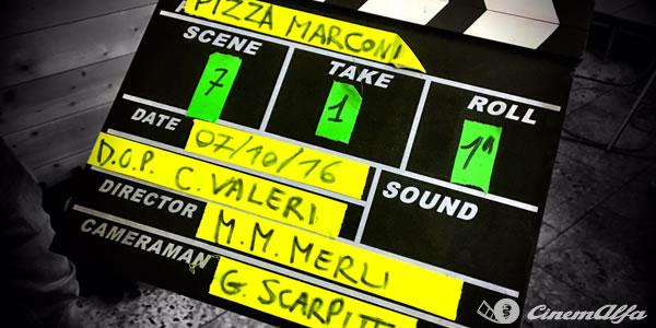 Pizza Marconi (2018), il cortometraggio CinemAlfa associazione alfisti alfa romeo cinema italia