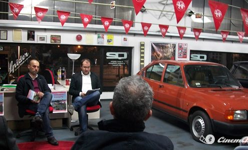 Presentazione del libro 'Gerundo passato' di Fabio Conti associazione cinemalfa alfisti alfa romeo italia