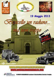 Brescello un raduno ma non troppo - 22 Maggio 2013 - Brescello cinemalfa associazione cinema italia alfa romeo alfisti