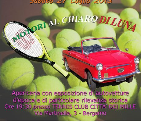 Motori al Chiaro di Luna - 27 Luglio 2013 - Bergamo cinema italia alfa romeo alfisti