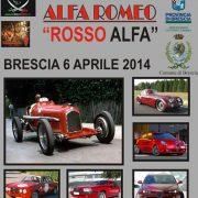 Rosso Alfa - 6 Aprile 2014 - Brescia cinemalfa associazione cinema italia alfa romeo alfisti