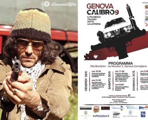 Genova Calibro 9 - 31 Maggio e 1 Giugno 2014 cinemalfa associazione cinema italia alfa romeo alfisti cinemalfa associazione cinema italia alfa romeo alfisti