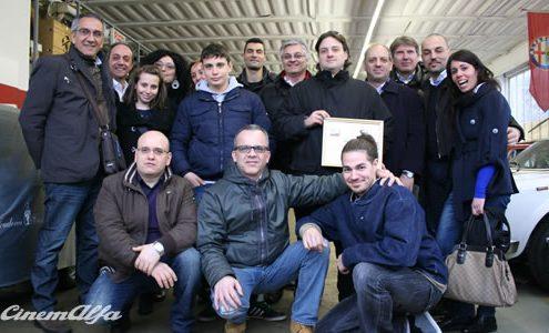 Giornata Elvetica - 23 Marzo 2013 - Lugano, Svizzera cinemalfa associazione cinema italia alfa romeo alfisti