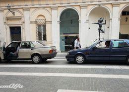 Roma, serie tv 1993 cinemalfa alfa romeo associazione alfisti italia cinema