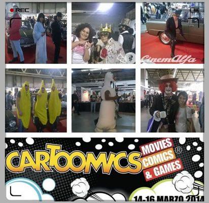Cartoomics cinemalfa associazione cinema italia alfa romeo alfisti