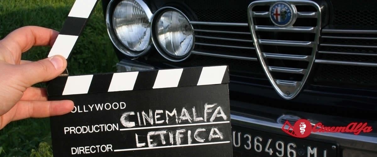 cinemalfa associazione alfisti alfa romeo cinema movie videoclip film